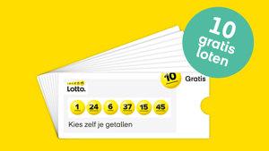 Lotto Gelukspakket met 10 Gratis loten